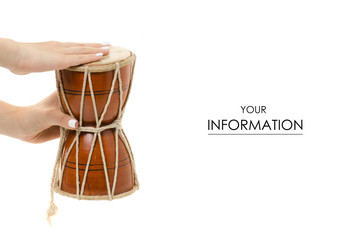 The little drum in hand pattern