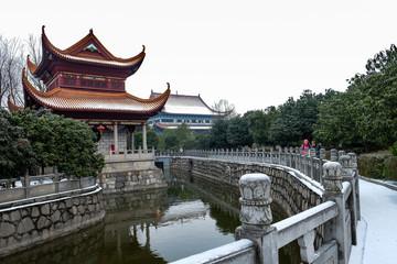 The Kaifu temple at Changsha , Hunan province.