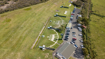 Shooting Club Aerial Point Of View