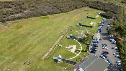 Shotgun Club Practice Grounds Aerial View Patterns