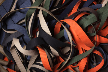 Webbing straps - line abstract.