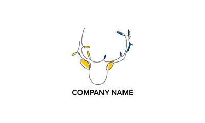 Monoline logo design
