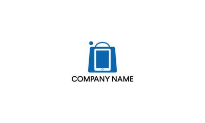 Bag and Smartphone logo design