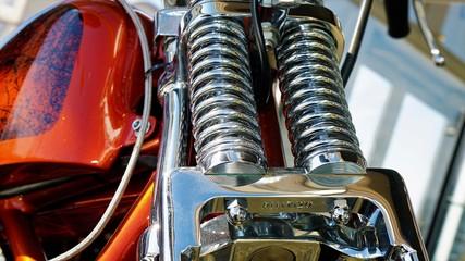 Motorcycle Closeup - Classic American