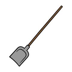 Cartoon Shovel Illustration