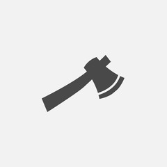 Axe tool vector icon