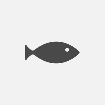 fish vector icon