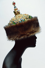 Fur rich historical headwear