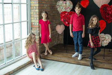 Children fashion clothes