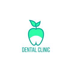 Dental vector logo icon illustration
