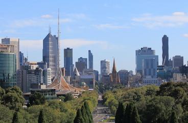 Melbourne Cityscape Australia
