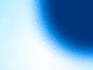 geometric blue circle texture background