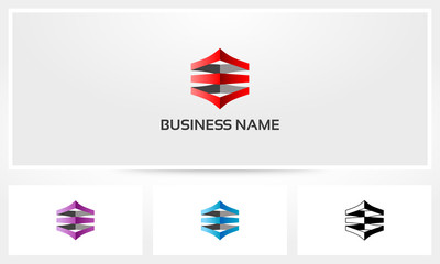 Abstract Stack Logo