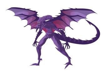 evil winged monster