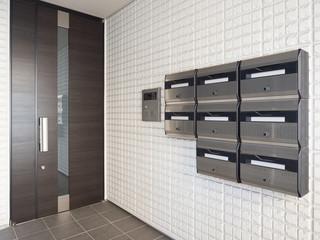 Fototapete - 集合住宅の玄関
