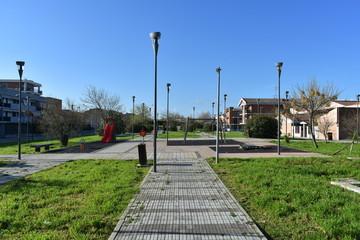 Playground, Sunny Morning
