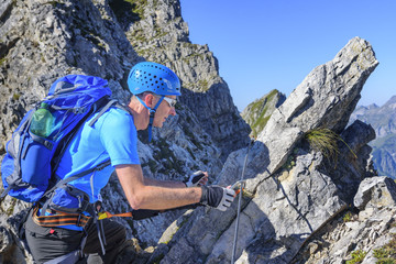 Bergerlebnis Klettersteig