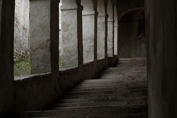 Spoed Foto op Canvas Oude verlaten gebouwen Un angolo della mia città