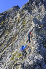 hochalpines Klettersteig-Abenteuer