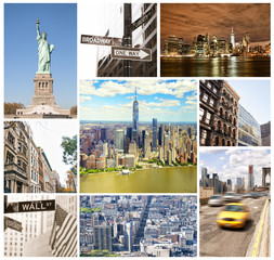 Collage of New York City