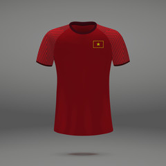football kit of Vietnam