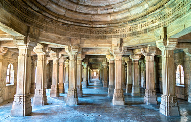 Sahar Ki Masjid at Champaner-Pavagadh Archaeological Park. A UNESCO heritage site in Gujarat, India