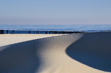 DUNE - Sea beach landscape on a sunny day
