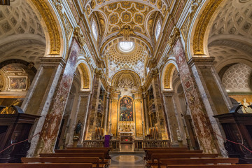Church of St. Louis of the French, Roma, Italy