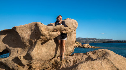 beautiful rock formations on Sardinia