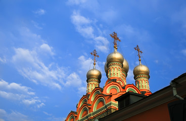 Cathedral of Christ the Savior in Moscow, Russia.