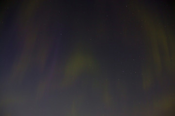 Northern Lights on Lake Winnipeg