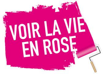 expression - bonheur - joie - amoureux - joyeux - joyeuse - rose - sourire - content - vie en rose