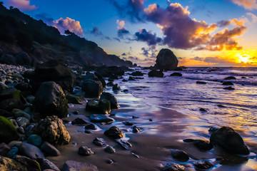 Sunset in San Francisco, California