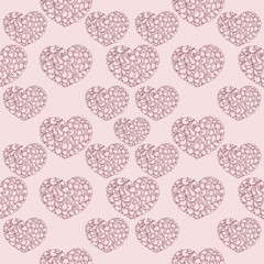 St Valentin day seamless pattern
