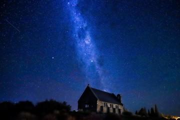 星空 テカポ湖 ニュージーランド