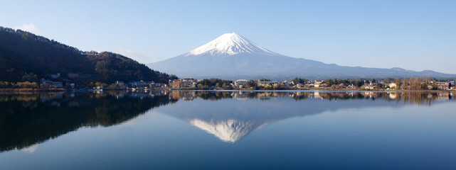 Mount Fuji with Reflection