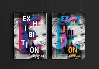 Modern Exhibition Flyer Layout