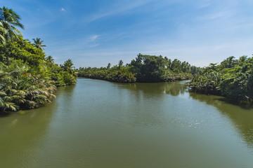 Lagoon near Negombo, Sri Lanka