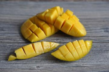 Fresh ripe mango