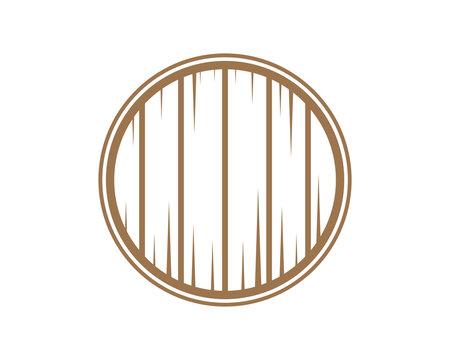 Barrel Sign Symbol Icon Logo Vector