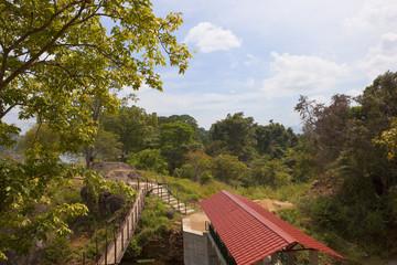 sri lankan lake and picnic site