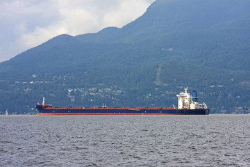 Tanker in English Bay, Vancouver