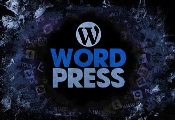 wordpress. word cloud design