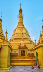 The Stupa of Sule Paya, Yangon, Myanmar