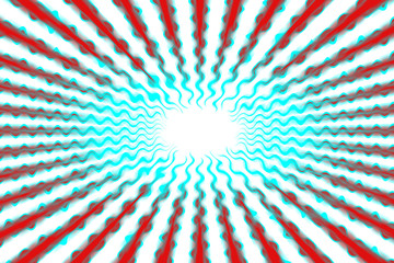 A blurry ray burst design.