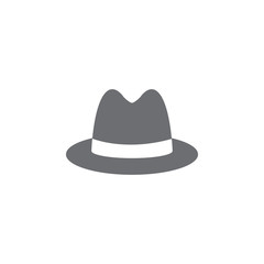 man hat icon. Simple element illustration. man hat symbol design template. Can be used for web and mobile