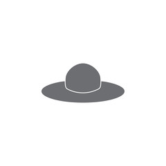 hat icon. Simple element illustration. hat symbol design template. Can be used for web and mobile