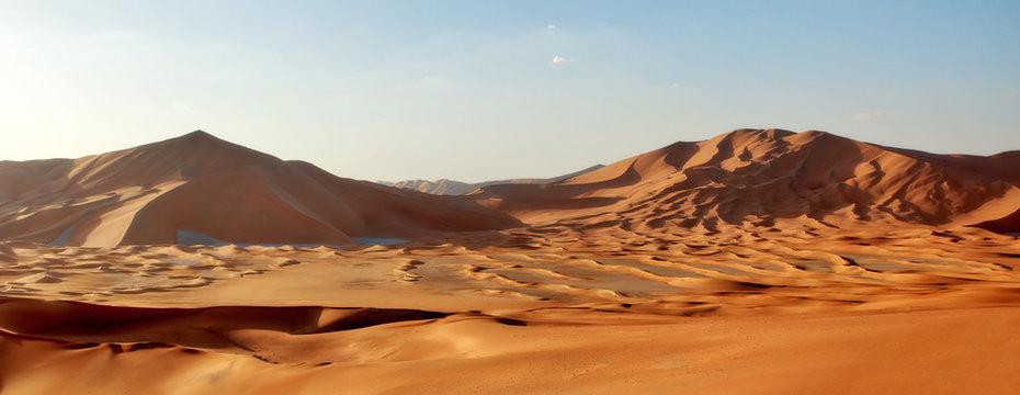 Empty Quarters in Oman and Saudi Arabia