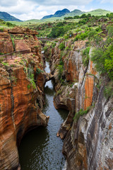 Canyons, Bourkes Luck Potholes, South Africa