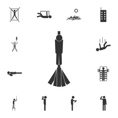 Execution Death Penalty Capital Punishment execution by fire Methods Icon. Detailed set of death icons. Premium quality graphic design. One of the collection icons for websites, web design, mobile app